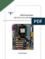 MSI K8N Neo4 Series Manual