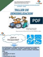 TALLER DE SENSIBILIZACION REINA
