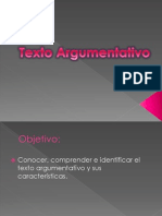 Texto Argumentativo Power Point