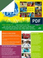 Camp Amichai 2012 Brochure - English