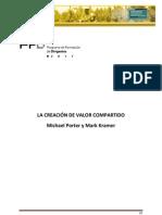 La Creacion de Valor Compartido - Michael Porter y Mark Kramer - HBR