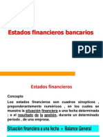 Analisis de Estados Financieros Bancarios i