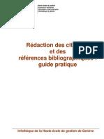 Guide de Redaction Et de Presentation Des References Bibliographiques v3