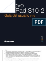Lenovo IdeaPad S10-2 User Guide V1.0 (Spanish)