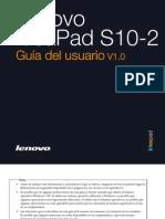 Lenovo IdeaPad S10-2 User Guide V1.0 (Spanish)