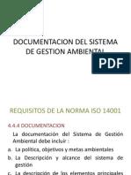 Documentacion Del Sistema de Gestion Ambiental