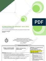 PANEACIONES DE CIENCIAS 1 2011-2012