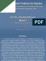 EEL105 Analise Circuitos Engenharia Modulo 7 2011