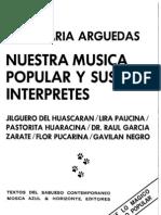 Nuestra música popular y sus intérpretes (José María Arguedas)