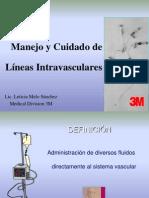 Manejo de Lineas Intravasculares HRAE