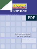 Calculo Diferencial de Uma Variavel Unidade I