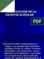 Clasificacion de La Osteitis Alveolar