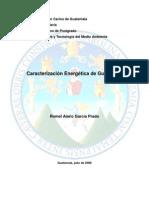 Caracterización energética de Guatemala