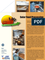 Solar Food Processing Spanish