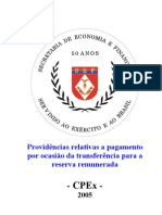 Cartilha Reserva Remunerada