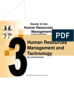 Chapter 3 - Human Resources Management and Technology