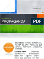 Presentacion Propaganda