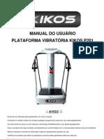 Manual plataforma vibratoria
