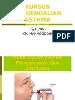 Asthma - Peak Flow Meter
