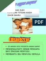 Bab 15- Bayi Yang Enggan Menyusu