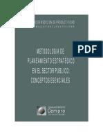U10 Metodologia de to Estrategico Sector Publico