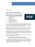 White Paper Managing TM1 Projects