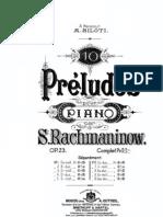 IMSLP105592-PMLP02017-Rachmaninov - 23 - 10 Preludes Ed.gutheil