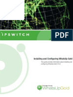 Installing and Configuring WhatsUp Gold 15