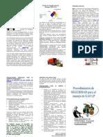 Manejo de GAS LP en Alamcenes