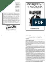 Anarquismo y anarquía - Errico Malatesta