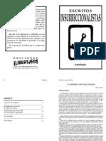 Escritos insurreccionalistas - Autores Varios