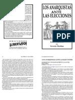Los Anarquistas Ante Las Elecciones - Malatesta/Merlino