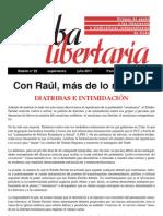 Cuba Libertaria Suplemento Al Nº 22