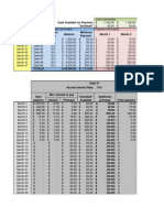 Debt Calculation