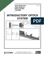 Manual Optica PASCO
