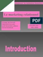 Le marketing relationnel (PPT)