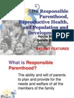 RP-RH Bill (Salient Features) as of November 2011