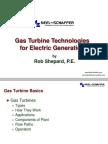 MS3-ASME Gas Turbine Technologies Presentation