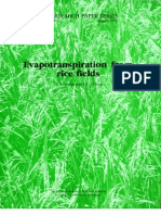 IRPS 34 Evapotranspiration from Rice Fields
