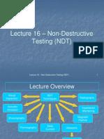 326 ppt   Nondestructive Testing   Waves