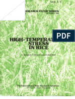IRPS 67 High-Temperature Stress in Rice