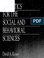 Statistics for the Social and Behavioural Sciences