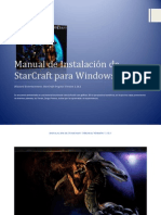 Manual de Instalación de StarCraft para Windows 7