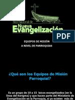 Equipos de Misión Parroquial