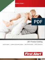 Catalogo 2011 First Alert