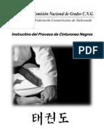 Instructivo Proceso de Cinturones Negros CNG