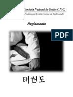 Reglamento Comision Nacional de Grados FCT 2011