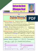 (10)Barisan Dan Deret Bilangan Real