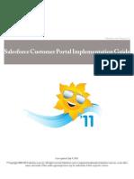 Sales Force Customer Portal Implementation Guide
