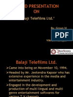 Brand Activation from Balaji